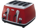 DeLonghi-CTO4003R-Icona-4-Slice-Toaster-Red Sale