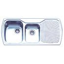Monet-1-34-Bowl-Topmount-Sink-With-Drainer Sale