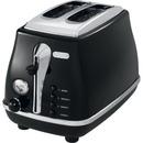 Icona-2-Slice-Toaster-Black Sale