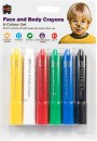 Educational-Colours-Face-Body-Crayons Sale