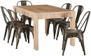 Havana-7-Piece-Dining-Set-with-Replica-Tolix-Chairs Sale