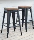 NEW-Replica-Tolix-Large-Bar-Stools-with-Bamboo Sale