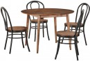Tara-5-Piece-Dining-Set-with-Replica-Bentwood-Bamboo-Chairs Sale