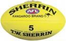 Sherrin-Synthetic-AFL-Ball-Yellow Sale