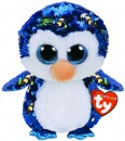 TY-Medium-Beanie-Boos-Flippable-Payton-Blue-Penguin Sale