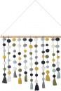 Pom-Pom-Wall-Hanging-in-Indigo Sale