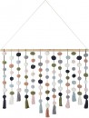 Pom-Pom-Wall-Hanging-in-Rose Sale