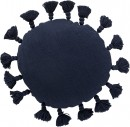 Lenoux-Round-Cushion-in-Navy Sale