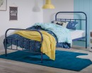 NEW-Willow-King-Single-Bed-in-Navy Sale