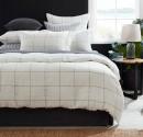 Hampton-Grid-Linen-Duvet-Cover-Set Sale