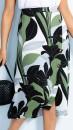 Sara-Side-Button-Skirt Sale