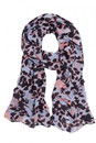 Blue-Abstract-Scarf Sale