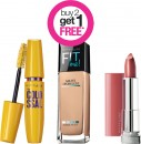 Buy-2-Get-1-FREE-on-Entire-Maybelline-New-York-Range Sale