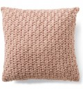 House-Home-Knitted-Cushion-Blush Sale