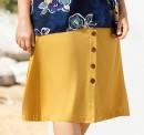 Sara-Button-Thru-Skirt Sale