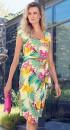 Kaleidoscope-Wrap-Skirt-Printed-Dress Sale