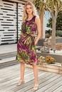 Kaleidoscope-Crinkle-A-Line-Dress Sale