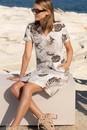 Capture-Linen-Notch-Neck-Shift-Dress Sale