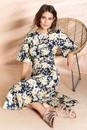 Grace-Hill-Linen-Shirred-Waist-Dress Sale