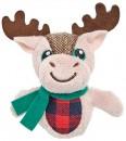 Joy-Love-Hope-Moose-Plush-Cat-Toy-Brown-13cm Sale
