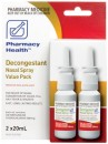 Pharmacy-Health-Decongestant-Nasal-Spray-Value-Pack-2-x-20mL Sale