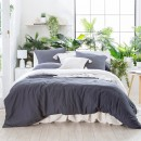 Washed-Linen-Charcoal-Quilt-Cover-Set-by-Habitat Sale