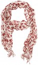 Basque-Crinkle-Scarf-Red Sale