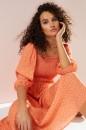 Emerge-Shirred-Bodice-Midi-Dress Sale
