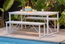 Haiti-4-Seater-Steel-Bench-Set Sale
