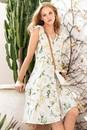 Emerge-Linen-Blend-Ruffle-Dress Sale