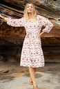 Emerge-Broderie-Square-Neck-Dress Sale