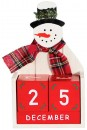 30-off-Snowman-Calender-11x17cm Sale