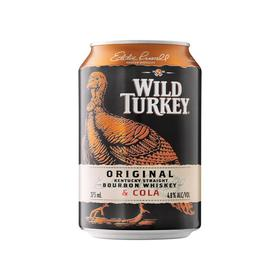 Wild-Turkey-Bourbon-Cola-Cans-375mL on sale