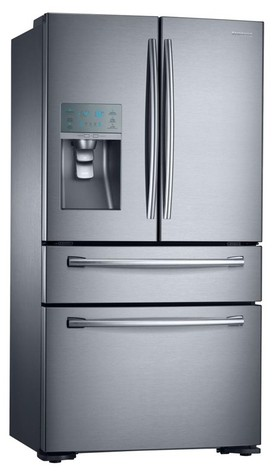 Samsung-SRF680CDLS-680L-4-Door-French-Door-Fridge on sale