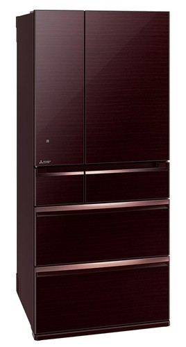 Mitsubishi-MR-WX743Y-BR-A-743L-Multi-Drawer-Fridge-Dark-Mahogany on sale