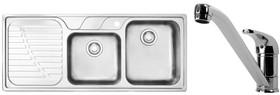 Franke-DRX621LHDPACK-Sink-Tap-Pack on sale