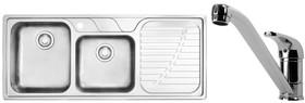 Franke-DRX621RHDPACK-Sink-Tap-Pack on sale