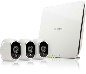 Netgear-Arlo-Security-System-with-3-HD-Wire-free-Cameras-VMS3330 on sale