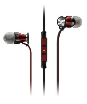 Sennheiser-In-Ear-Headphones-iPhoneiPadiPod-Red-MOMENTUMIEI on sale