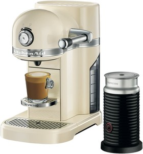 KitchenAid-Nespresso-Almond-Cream-Coffee-Machine-KES0504 on sale