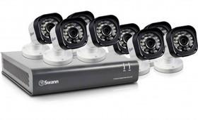 Swann-DVR8-1580-8-Channel-720p-Digital-Video-Recorder-8-x-PRO-T835-Cameras on sale