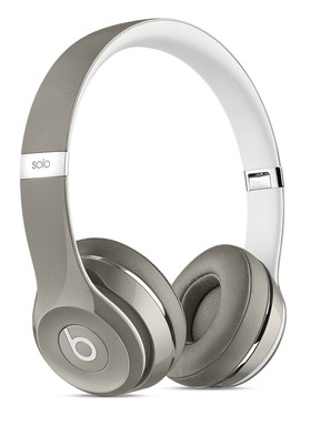 Beats-Solo2-On-Ear-Headphones-Luxe-Edition-Silver on sale