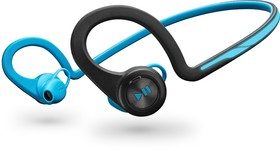 Plantronics-BackBeat-FIT-Bluetooth-Headphones-Blue on sale