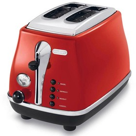 DeLonghi-CTO2003R-Icona-2-Slice-Toaster-Red on sale