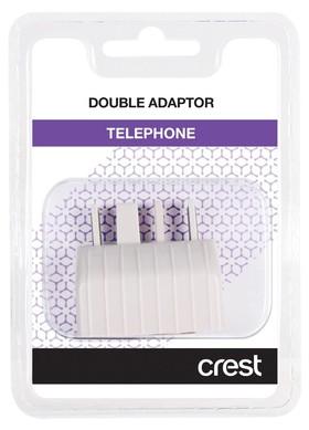 Crest-TA104DA-Telephone-Double-Adaptor on sale
