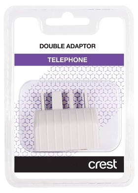 Crest-TA104DA-Telephone-Double-Adaptor on sale