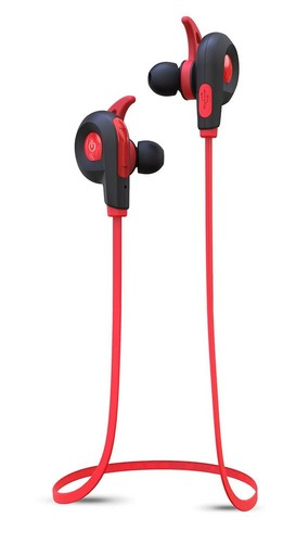 Blueant-Pump-Lite-Wireless-HD-Audio-Sportbuds-Red on sale