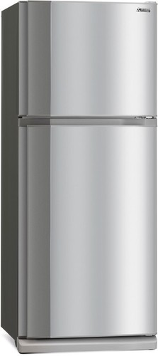 Mitsubishi-420L-Stainless-Steel-Top-Mount-Fridge on sale