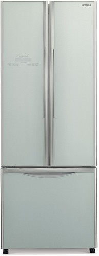 Hitachi-R-WB550PT2-GS-510L-French-Door-Refrigerator-Silver-Glass on sale