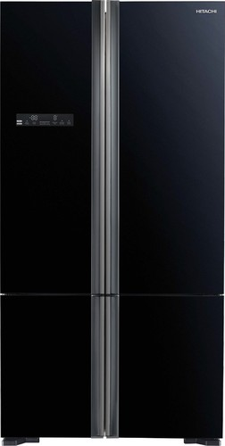 Hitachi-R-WB730PT5GBK-650L-French-Door-Fridge-Black-Glass on sale